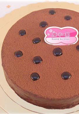 素食無蛋巧克力蛋糕8吋(含運) (2)